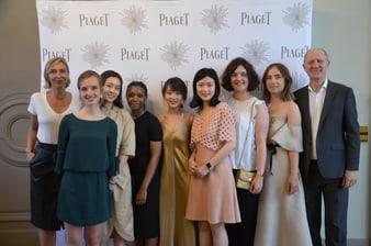 Piaget a soutenu la troisième promotion du Bachelor Design Bijou de l'École Privée de la Bijouterie-Joaillerie