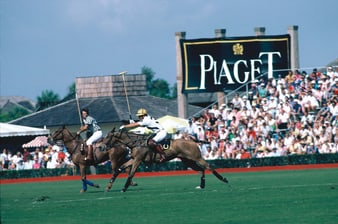 Piaget Polo traces its roots to the equestrian sport