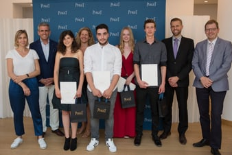 students at the 2019 piaget prix romand for best high jewellery designer and jeweler