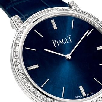 알티플라노 바게트 다이아몬드 시계