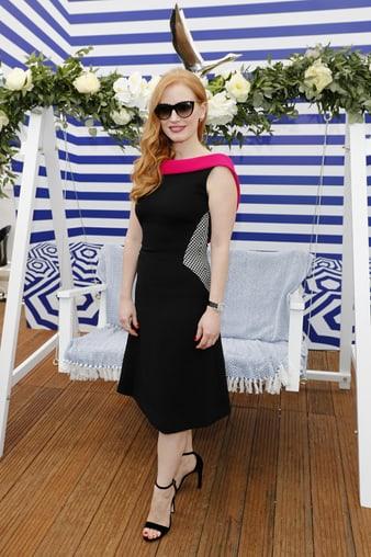 """Jessica Chastain porte des créations de Haute Joaillerie Piaget à Cannes"""""""