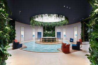 Piaget displays its brand new luxury high-end watches at the 2018 SIHH
