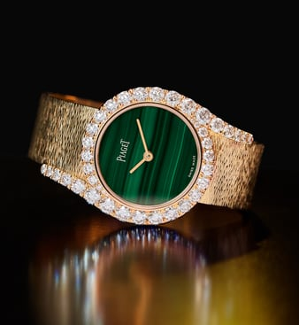 Limelight Gala watch in rose gold and diamond