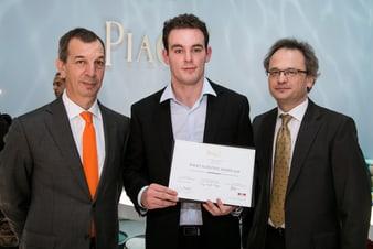 Gewinner des diesjährigen Piaget Scientific Award
