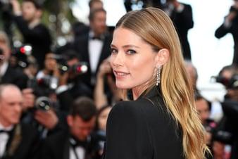 Doutzen Kroes a choisi les diamants de la Haute Joaillerie Piaget pour briller à Cannes