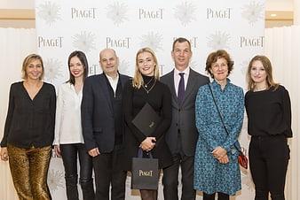 Piaget rewards jewelry designer students for their work