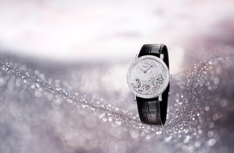 Piaget Altiplano ultra-thin watch in diamonds