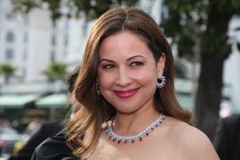 Raya Abirached strahlte in Cannes mit einem Piaget Haute Joaillerie-Set