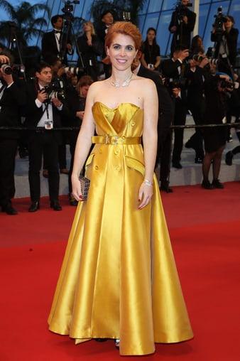 Eva Husson porte des créations joaillières Piaget à Cannes