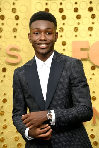 Niles Fitch wearing an Altiplano ultra-thin watch for men