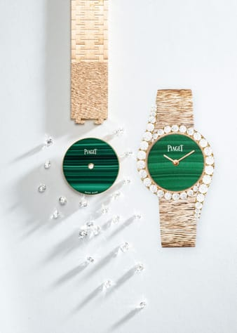Luxuriöse Uhrmacherkunst: Limelight Gala Roségolduhr mit Diamanten