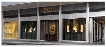 Boutique Piaget : montres de luxe et bijoux en or