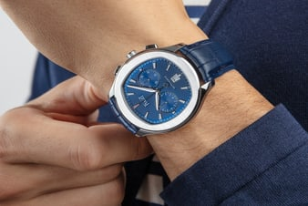 伯爵精鋼高級腕錶