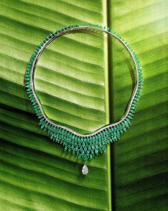 piaget golden oasis haute joaillerie collier