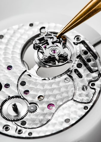 Reloj ultraplano Piaget con movimiento tourbillon