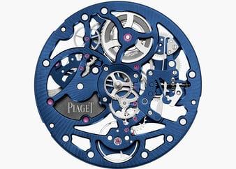 Piaget skeleton watch movement