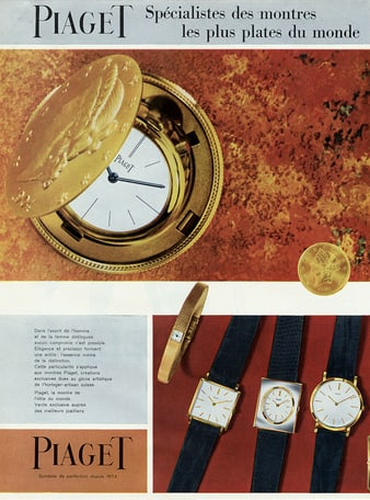 Altiplano ultra-thin watches and gold pocket watch