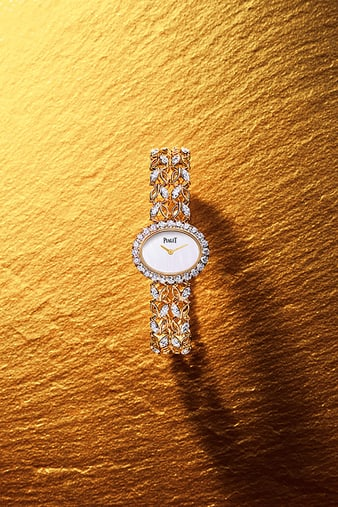 G0A41263 Sunny Side of Life rose gold diamond watch