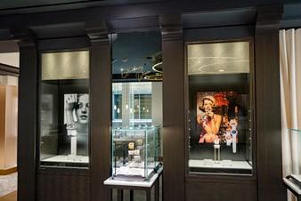 文華東方酒店伯爵金質鑽石腕錶展覽