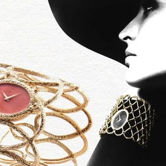 Goldene Armbanduhren für Damen