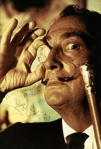 Salvador Dali et le «Dali d'or»