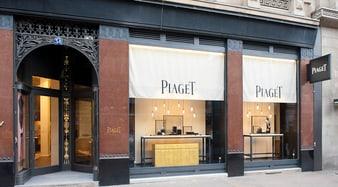 Piaget Boutique: Luxusuhren und Goldschmuck