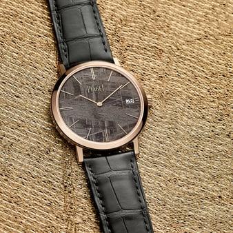 高級超薄腕錶