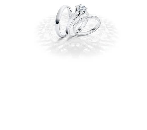 White gold diamond wedding ring