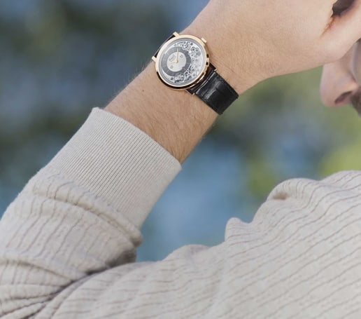 Altiplano Ultimate Automatic luxury watch for men