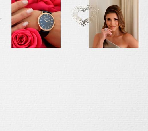 Shiva Safai luce un reloj de oro rosa ultraplano y joyería de diamantes