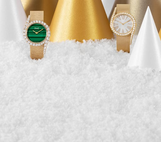 Rose gold diamond watches for Holiday Season