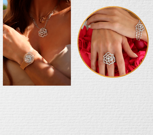 Women's luxury watches and diamond jewellery for Mother's day