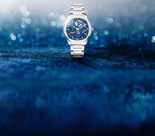 Piaget Polo man steel watch