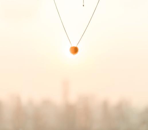 Piaget Sunlight gold pendant