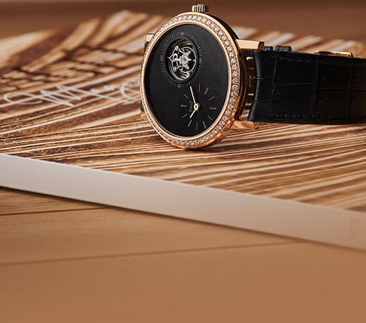montre extra-plate altiplano en or rose
