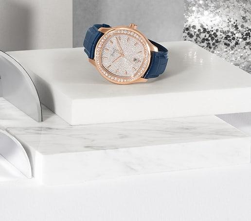 Rose gold diamond watch for Holiday Season