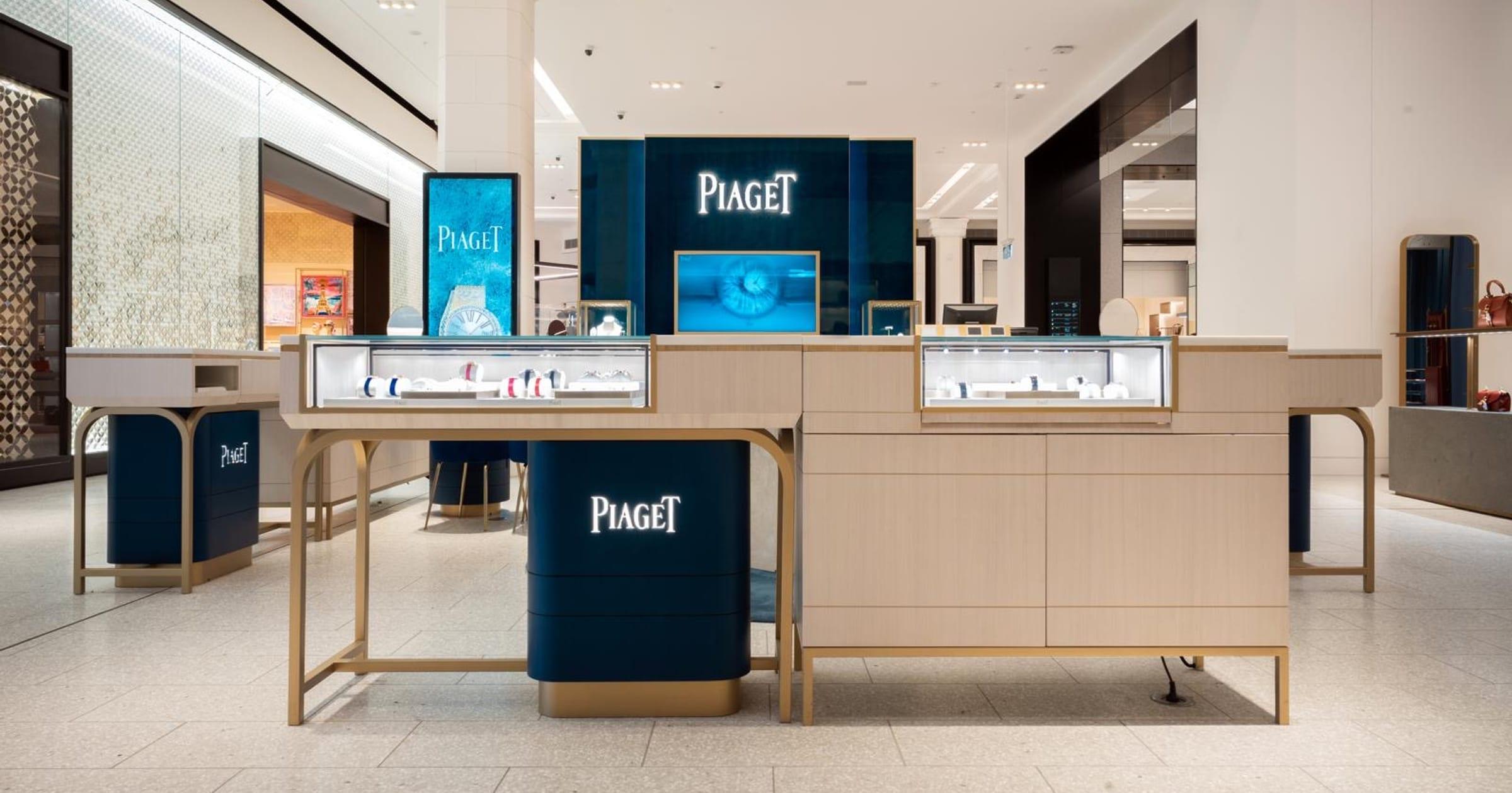 Boutique Piaget Sídney David Jones - Boutique de relojes y joyería de lujo