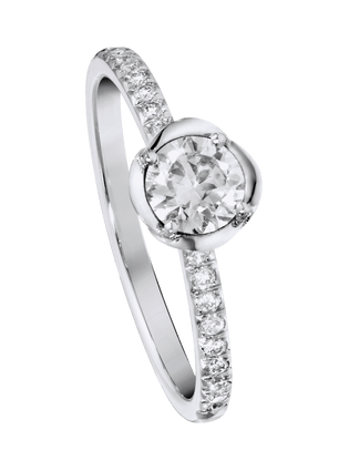 Piaget Rose engagement ring