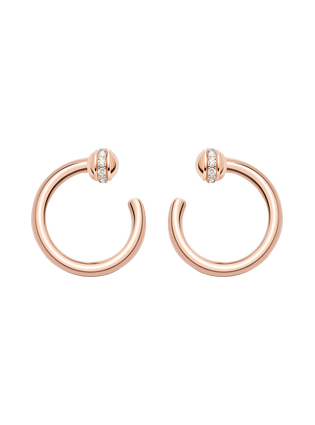 Possession open hoop earrings