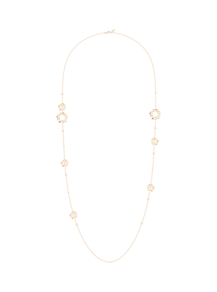 Collar largo Piaget Rosa