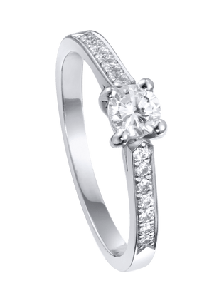 Piaget Elégance engagement ring