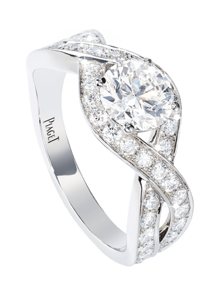 Piaget Jardin Secret engagement ring