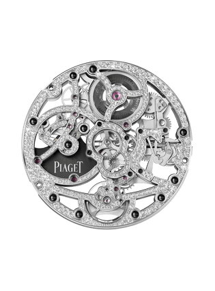 1200D gem-set skeleton Movement