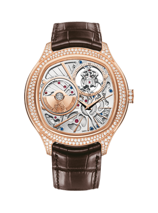 Piaget Emperador Uhr in Kissenform mit Tourbillon