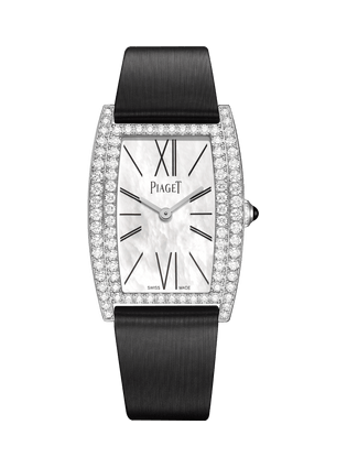 Limelight tonneau-shaped watch