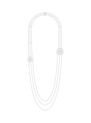Piaget Rose long necklace