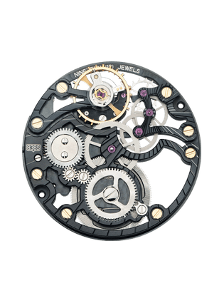 838S skeleton PVD movement