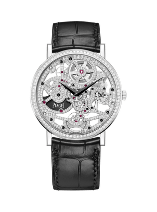 Altiplano Skeleton watch