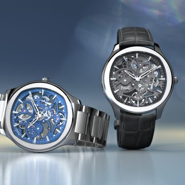 Skeleton luxury watches