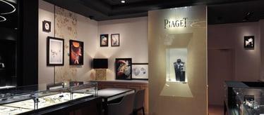 Boutique Piaget à Fukuoka - bijoux et montres de luxe